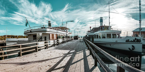 Photograph - Ammersee Fleet by Hannes Cmarits