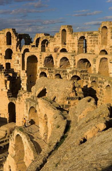 El Jem Photograph - Amphitheatre Of El Djem. 238. Tunisia by Everett