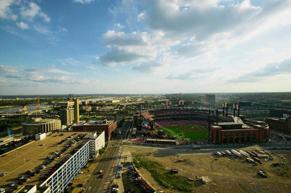 Busch Photograph - An Elevated View Of The Third Busch by Panoramic Images
