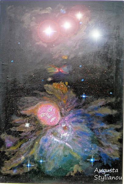 Orion Digital Art - Aphrodite In Orion's Nebula by Augusta Stylianou