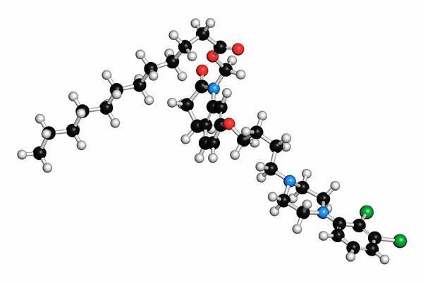 Wall Art - Photograph - Aripiprazole Lauroxil Antipsychotic Drug by Molekuul/science Photo Library