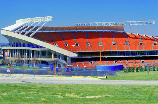 Wall Art - Photograph - Arrowhead Stadium, Home Of The Kansas by Panoramic Images