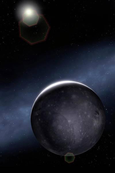 Wall Art - Photograph - Artwork Of Jovian Moon Ganymede by Mark Garlick/science Photo Library