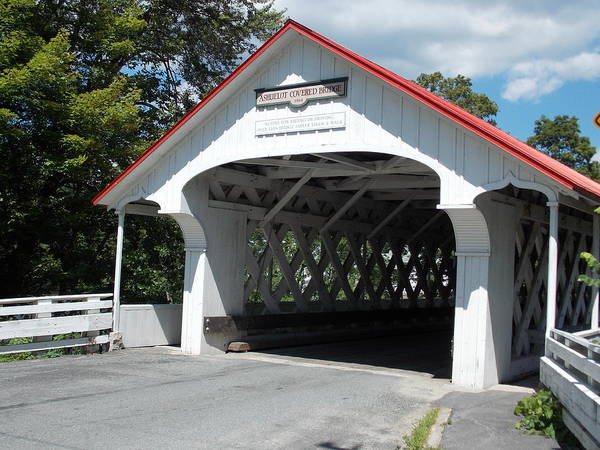 Wall Art - Photograph - Ashuelot Covered Bridge  by Catherine Gagne