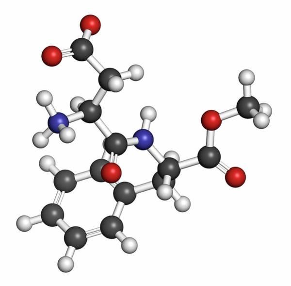 Wall Art - Photograph - Aspartame Artificial Sweetener Molecule by Molekuul/science Photo Library