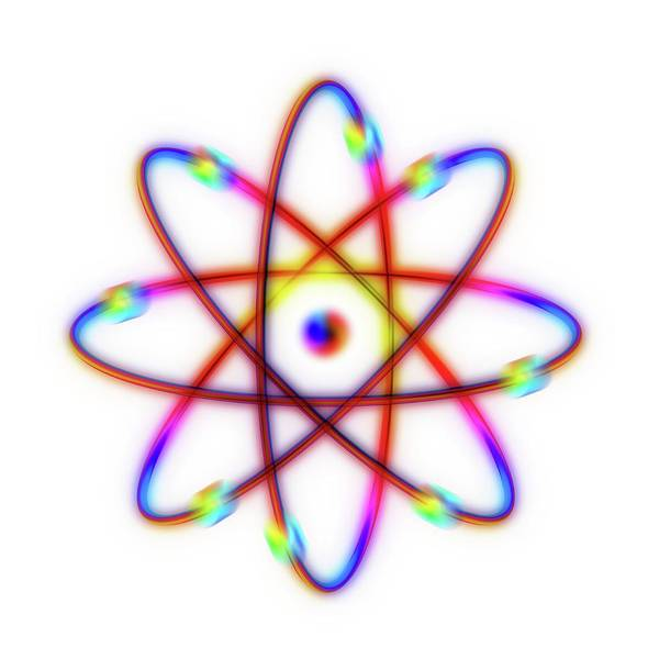 Atomic Photograph - Atomic Structure by Alfred Pasieka