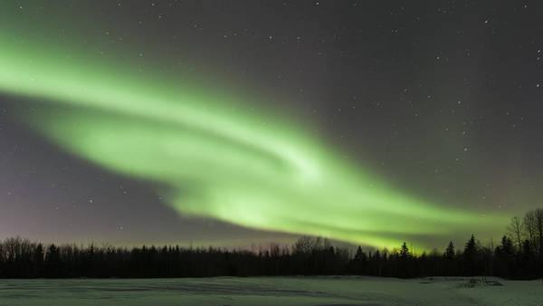 Aurore Photograph - Aurora Borealis I by Jean-Pierre Ducondi