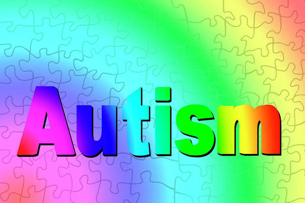 Wall Art - Photograph - Autism Spectrum by Carol & Mike Werner/science Photo Library