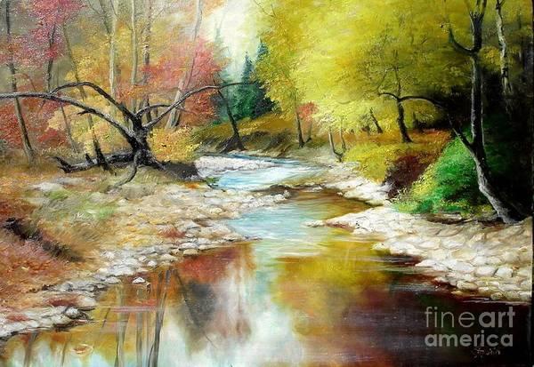 Painting - Autumn by Sorin Apostolescu