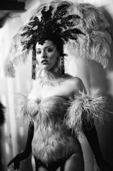 Showgirl Photograph - Backstage by H James Hoff
