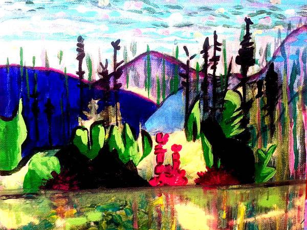 Backwoods  Art Print