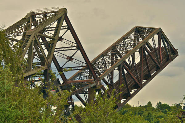 Photograph - Ballard Railroad Bridge by Steven Lapkin