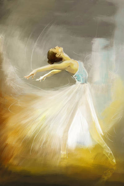 Catf Wall Art - Painting - Ballerina  by Corporate Art Task Force