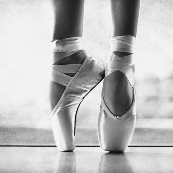 Pencil Sketch Photograph - Ballet En Pointe by Laura Fasulo
