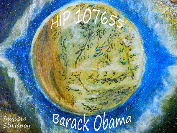 Painting - Barack Obama Star by Augusta Stylianou