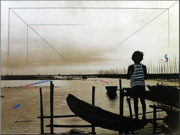 Batang Pinoy 1980 Art Print
