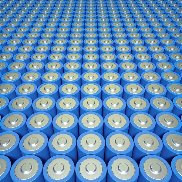Wall Art - Photograph - Battery Or Supercapacitor Array by David Parker/science Photo Library