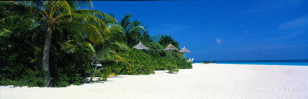 Respite Photograph - Beach Scene The Maldives by Panoramic Images