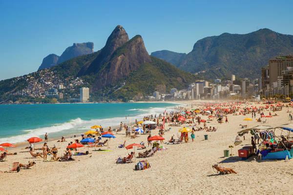 Beach Holiday Photograph - Beaches In Rio De Janeiro by Gonzalo Azumendi