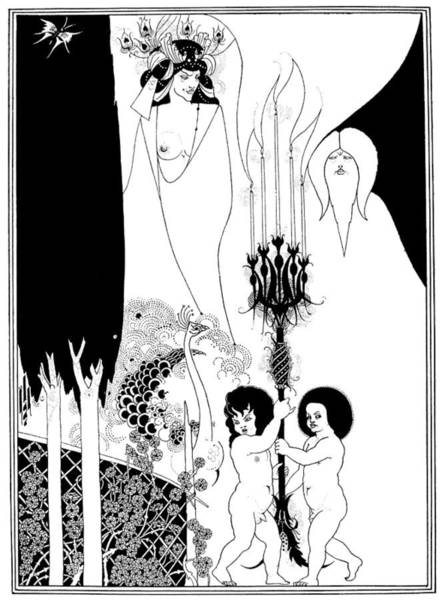 Drawing - Beardsley Salome by Granger