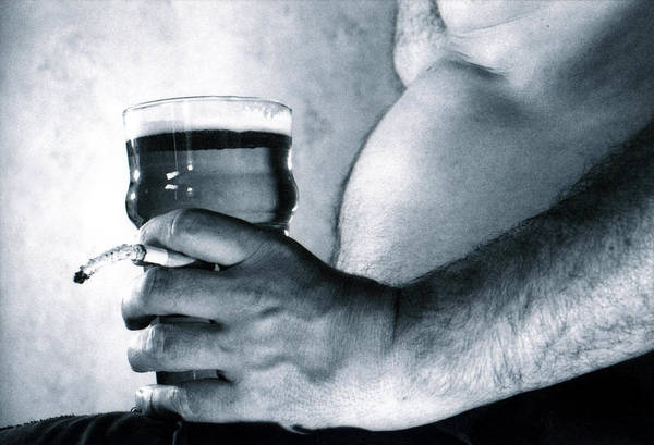 Beer Belly Art Print