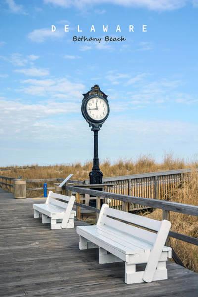 Rehoboth Beach Photograph - Bethany Beach Delaware by American Roadside