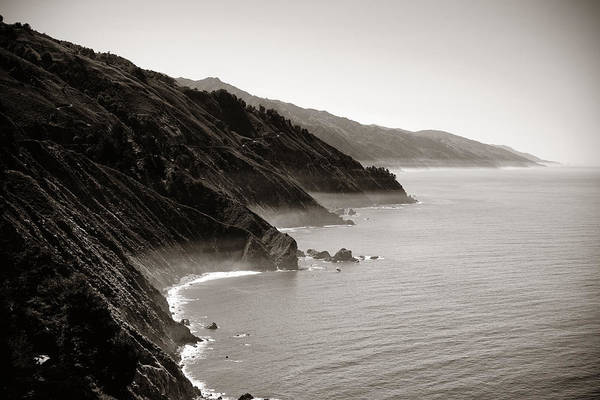 Photograph - Big Sur by Songquan Deng