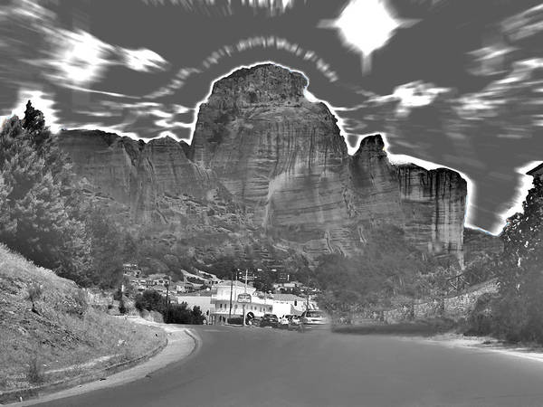 Photograph - Black And White Landscape by Augusta Stylianou