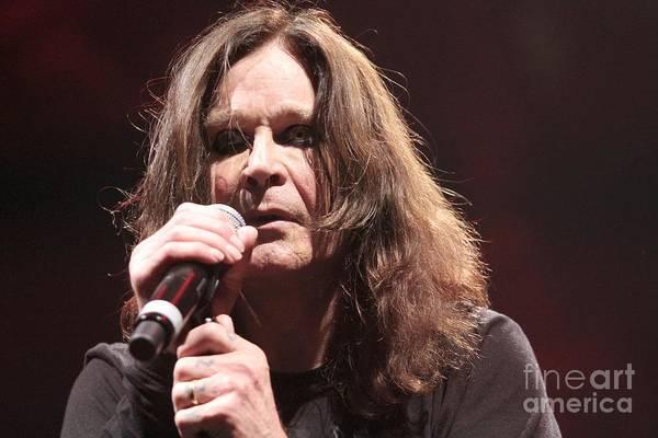 Ozzy Osbourne Wall Art - Photograph - Black Sabbath by Concert Photos