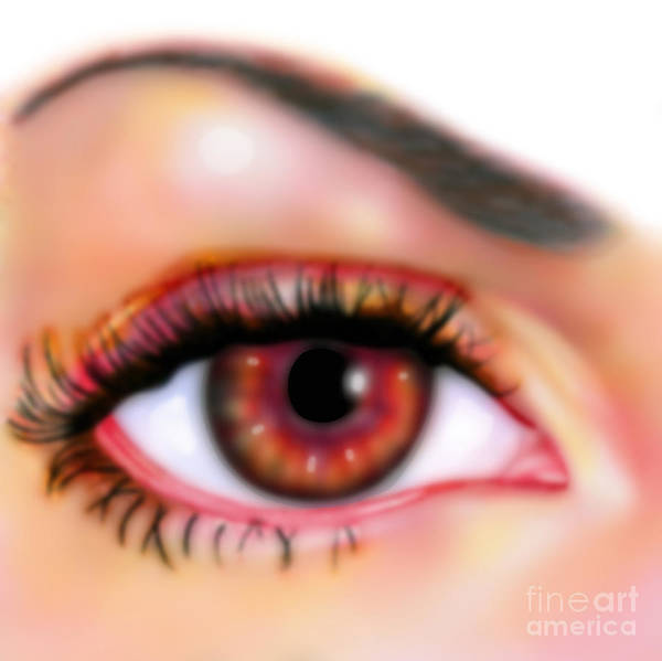 Eye Ball Photograph - Blurred Vision by Gwen Shockey