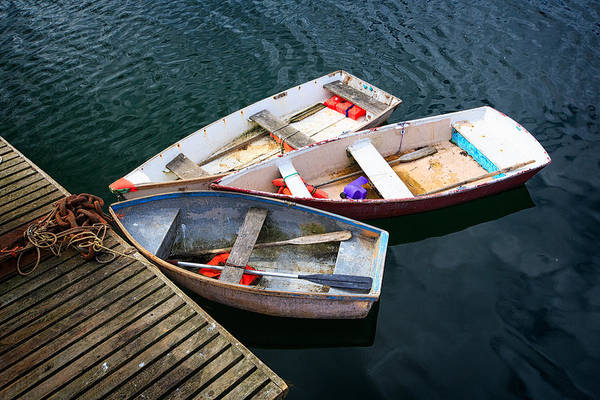 Wall Art - Photograph - 3 Boats by Emmanuel Panagiotakis