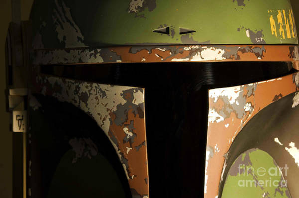 Wall Art - Photograph - Boba Fett Helmet 2 by Micah May