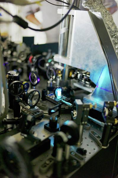 Laser Photograph - Bose-einstein Condensate by Ibm Research