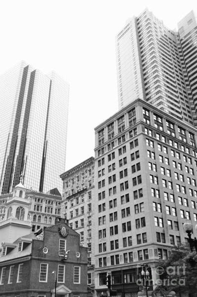 Photograph - Boston Cityscape by Staci Bigelow