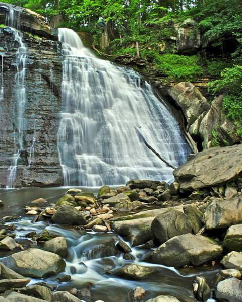 Whitecaps Photograph - Brandywine Falls by Frozen in Time Fine Art Photography