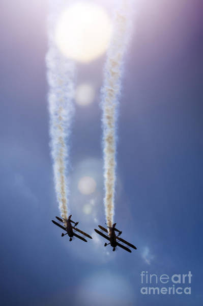 Wall Art - Photograph - Breitling Wingwalkers by Angel Ciesniarska