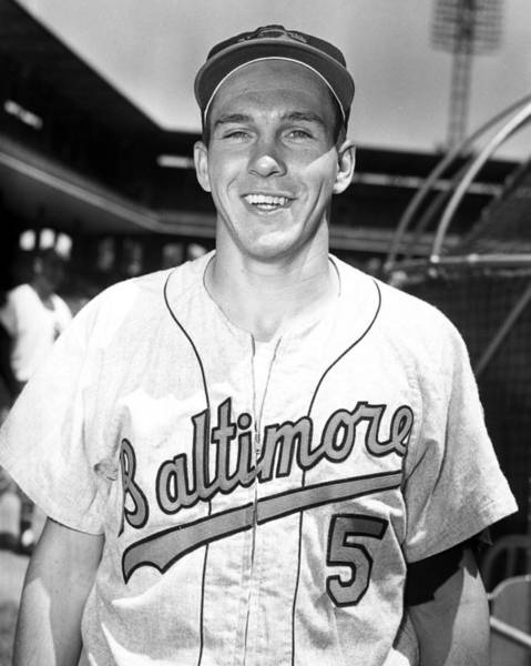Wall Art - Photograph - Brooks Robinson by Retro Images Archive