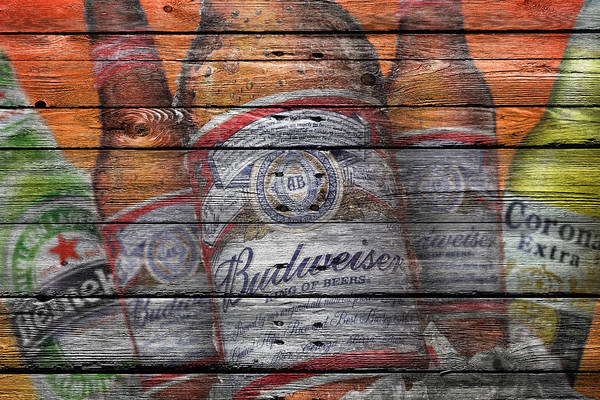 Six Wall Art - Photograph - Budweiser by Joe Hamilton