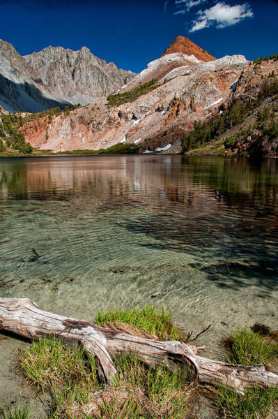 Sierra Nevada Photograph - Bull Lake And Chocolate Peak by Cat Connor