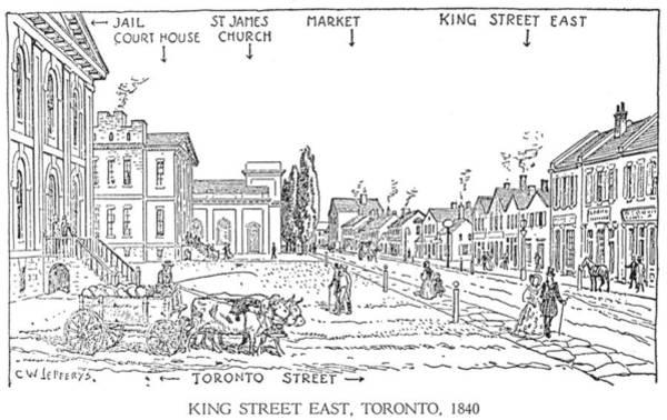 Toronto Drawing - C by Granger