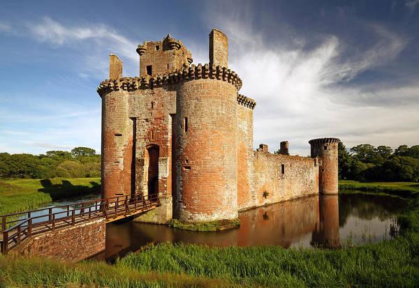 Photograph - Caerlaverock Castle by Grant Glendinning