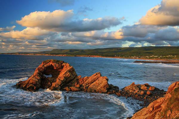 Cabot Trail Photograph - Canada, Nova Scotia, Cape Breton, Cabot by Patrick J. Wall