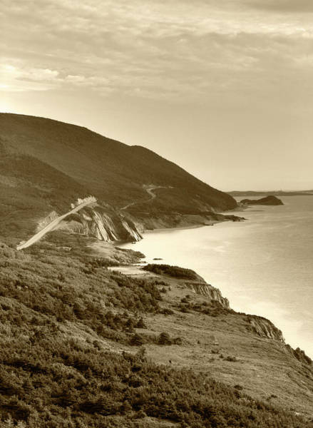 Cabot Trail Photograph - Canada, Nova Scotia, Cape Breton by Walter Bibikow