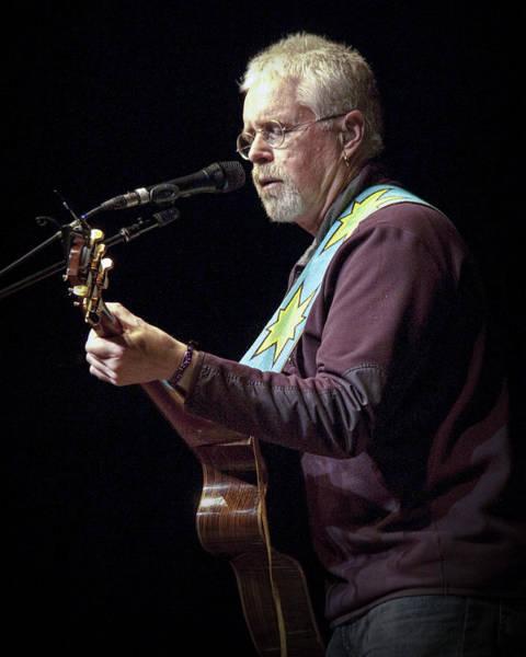 Photograph - Canadian Folk Rocker Bruce Cockburn by Randall Nyhof