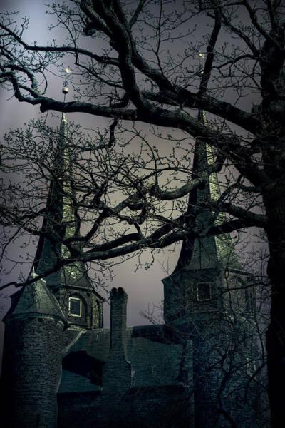 Gloomy Wall Art - Photograph - Castle by Joana Kruse