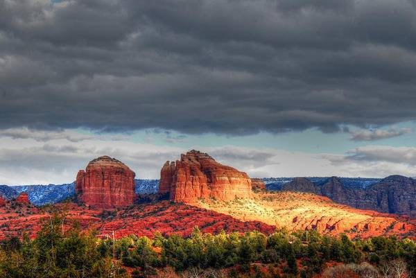 Photograph - Cathedral Rock by Tam Ryan