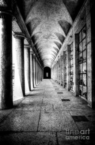 Photograph - Cemetery Of Verona by Traven Milovich