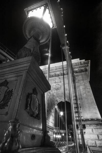 Photograph - Chain Bridge Budapest by John Magyar Photography