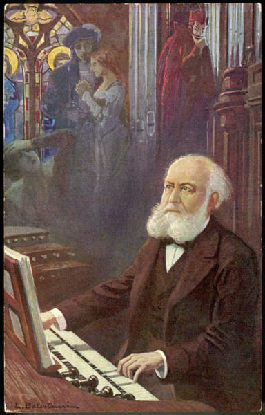 Wall Art - Drawing - Charles Gounod  French Musician And by Mary Evans Picture Library