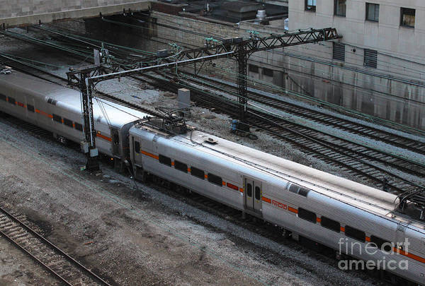 Photograph - Chicago Train by Gregory Dyer
